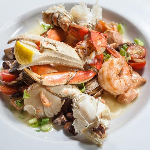 seafood, crab, lobster, shrimp